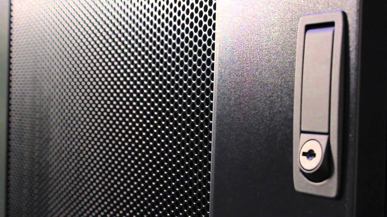 & Server Rack Door Style | Rackmount Solutions - YouTube