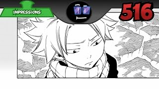 Fairy Tail Chapter 516 Impressions    Nurture Ultimately Wins Out