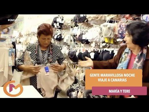 Gente Maravillosa Noche – ¿Cómo están preparando el viaje a Canarias María y Tere?