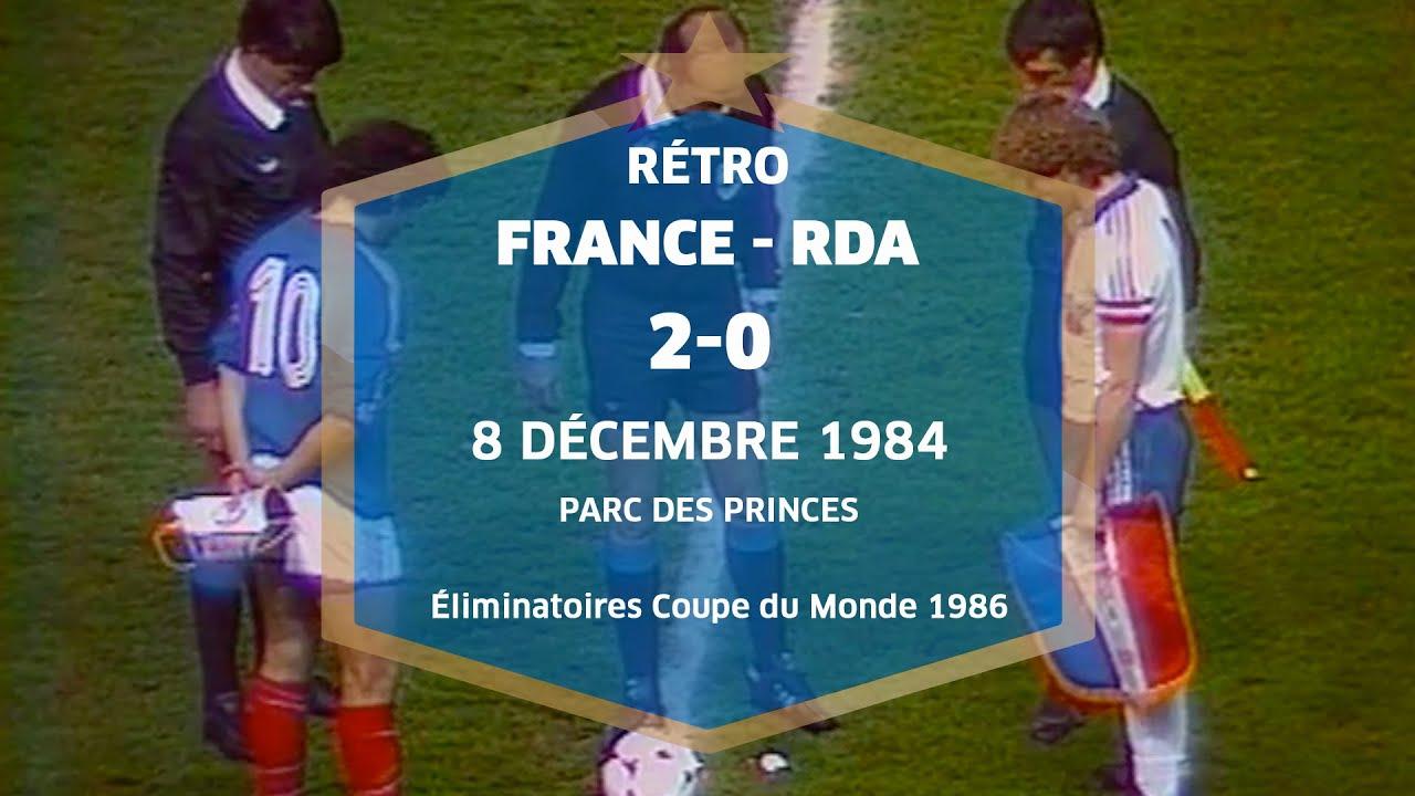 Equipe de france eliminatoires mondial 1986 france rda - Coupe du monde 1994 equipe de france ...