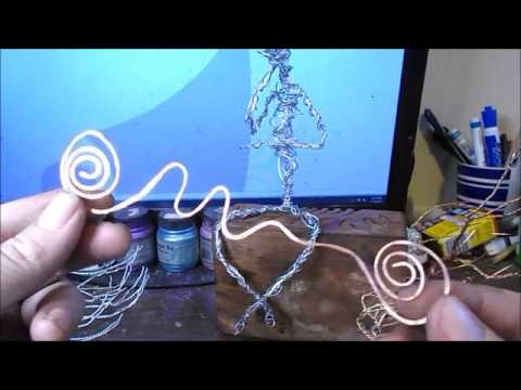 Artist Shares His Wire Sculptures