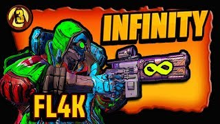 ((POWERFUL)) FL4K'S SPECIAL LEGENDARY INFINITY P.I.S.T.O.L. (Where to get it) BORDERLANDS 3