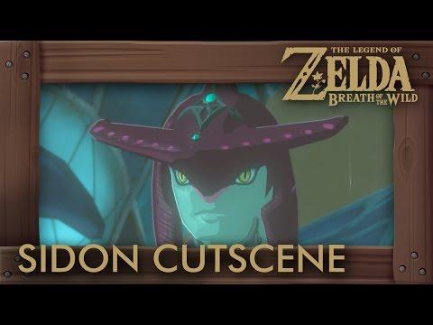 Zelda Breath of the Wild - Skipping Sidon for Alternate Cutscene in Zora