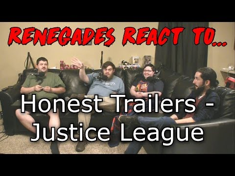 Renegades React to... Honest Trailers - Justice League
