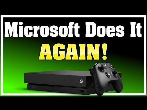 Microsoft Does it Again! Xbox One X Gets Fantastic News That Solves A Big Problem!