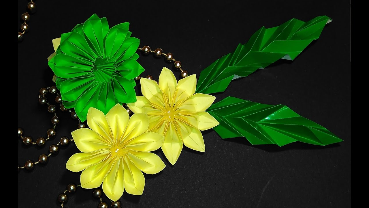 Easy to make origami lotus flower great ideas for table easy to make origami lotus flower great ideas for table decoration christmas ornament youtube dhlflorist Image collections