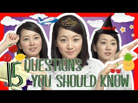 Learn the Top 15 Japanese Questions You Should Know (Việt Sub)