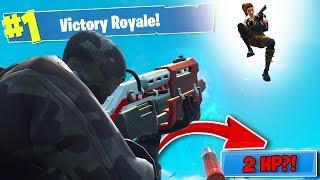 �������� ���� ПОБЕДА C 2 ХП?! — Fortnite Battle Royale ������