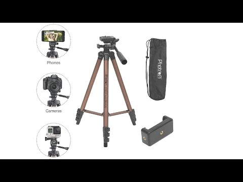 Unboxing Tripod photron stedy 420 tripod with mobile holder for smartphone, camera and Mobile 2020.