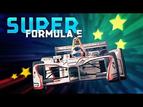 Super Formula E! | Happy Birthday Mario Kart