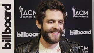 Thomas Rhett Wins Best Male Artist | Backstage Interview | ACM Awards