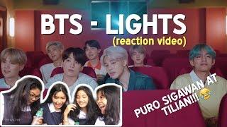 Gambar cover BTS - LIGHTS (REACTION VIDEO) || Lumot Sisters