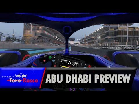 F1 2019: Abu Dhabi Grand Prixview - Pierre Gasly