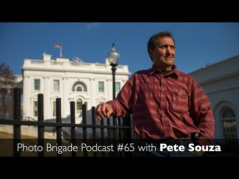 Pete Souza - A Chat with President Obama's Photographer - Photo Brigade Podcast #65