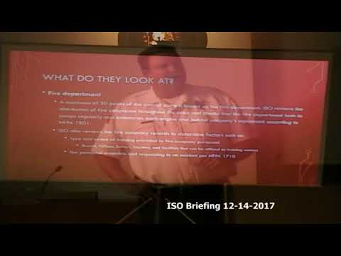 City of Macedonia ISO briefing 12-14-2017