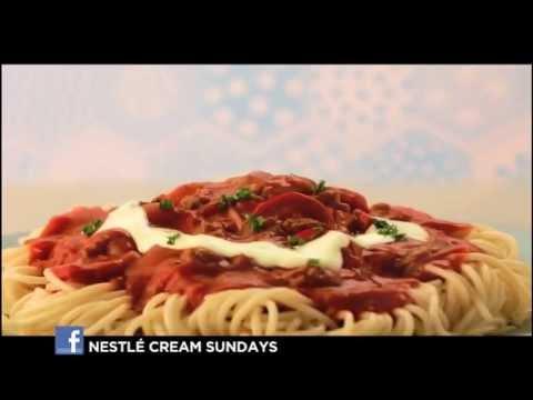 How To Make Nestle Cream Spaghetti Nestle Cream Nestle Ph Youtube