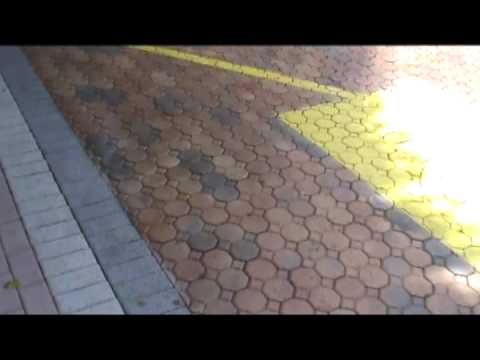 Staining pavers recoloring faded pavers  YouTube