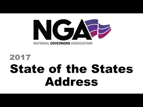 National Governors Association - State of the States 2017