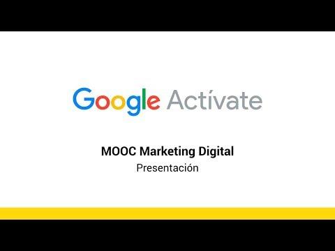 MOOC Marketing Digital - Presentación - Actívate