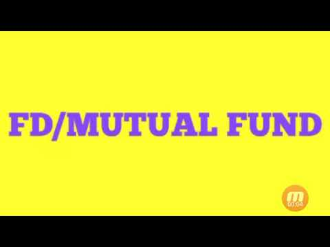 Difference between saving deposit and mutual fund