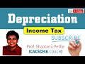 PGBP=Depreciation Calculation=Income tax act 1961= CS Executive CA IPCC Final CMA Inter