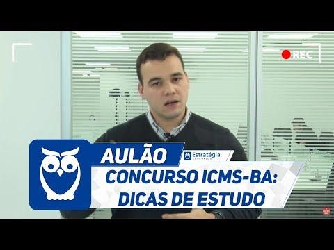 Concurso ICMS-BA: Dicas de Estudo
