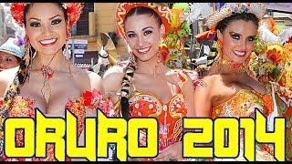 Carnaval de Oruro 2014, San Simon Morenada Central Ferrari Diablada Urus Tobas Cocanis
