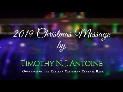 Governor Antoine's 2019 Christmas Message