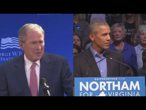 Bush 43, Obama Appear To Rebuke Trump
