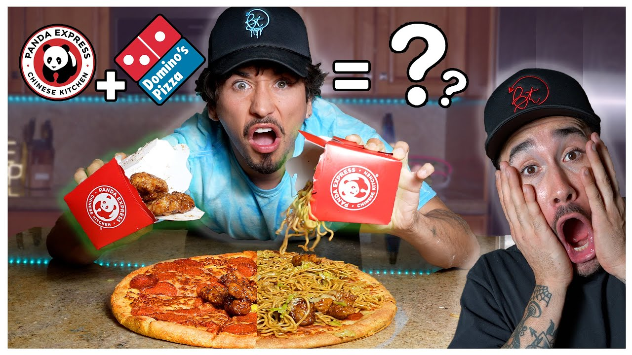 We TASTED Weird FAST FOOD Combinations... (PANDA EXPRESS PIZZA?!)