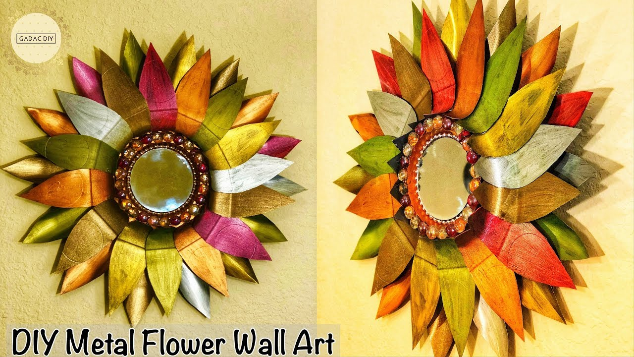 DIY Wall Hanging Crafts | milk can recycle ideas | Wall Hanging ...