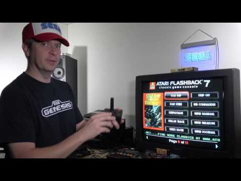 Classic Game Room - ATARI FLASHBACK 7 review