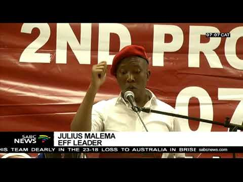 Malema condemns looting of foreign owned shops