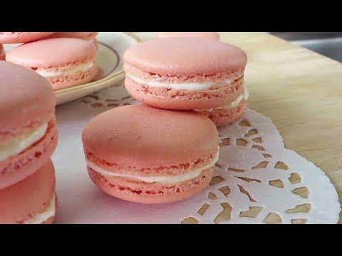 Macarons, French Meringue Method (法试马卡龙) **
