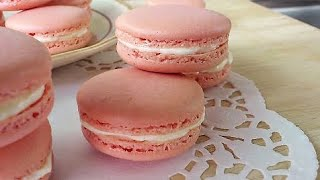 Macarons, French Meringue Method [法试马卡龙] **