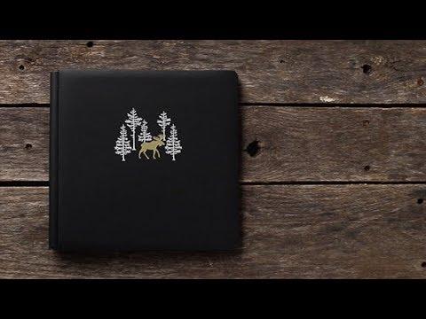 12x12 Ebony O Canada Album Cover | Creative Memories Australia
