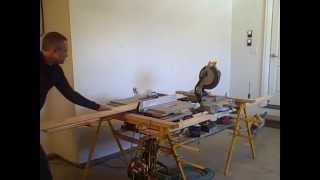Fast Horse Sawhorse/mitersaw/tablesaw Stand Ripping And Cutting