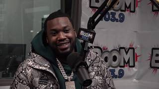 Meek Mill Talks Jay Z Twitter Response, Reconnecting with Drake, and Championships