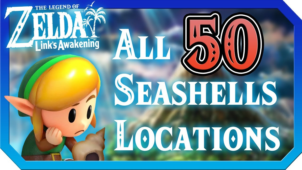 The Legend Of Zelda Link S Awakening Switch All Secret Seashells Locations