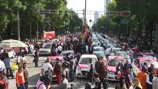 إضراب جميع سائقي التاكسي في المكسيك
