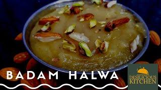 Recipe 4 | Badam Halwa | Almond Halwa Recipe | Badam Ka Halwa Recipe