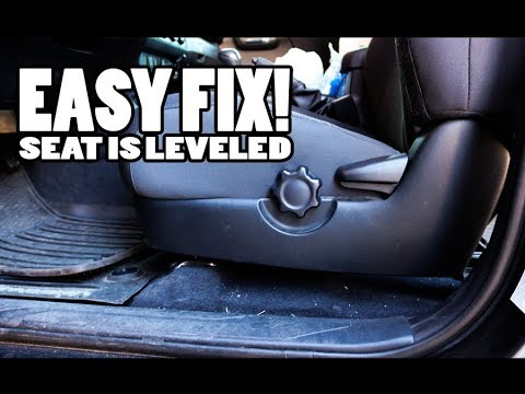 Tacoma Seat Height Fixed For Every Tacoma Owner Youtube