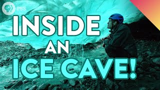 Why Is Glacier Ice Blue? Exploring An ICE CAVE!