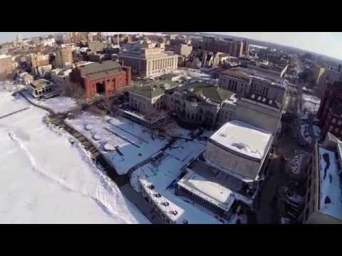 GoPro Hero3+ Kite-Cam : Union Terrace : March 2014