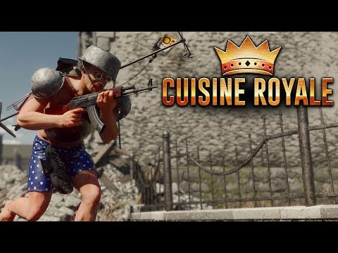 Playing Cuisine Royale on Xbox One! | Closed Beta Gameplay |