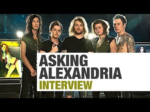 "ASKING ALEXANDRIA Interview | ""Smaller Shows Are Crazier Than Our Large Shows"" 