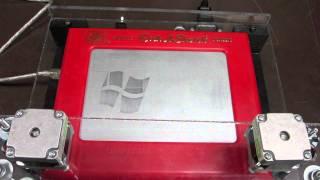 Etch-A-Sketch - Windows/Apple Logo