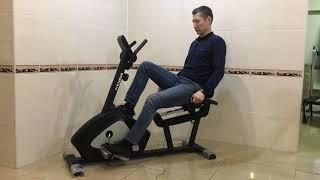 Необычный велотренажер на котором можно работать и отдыхать одновременно