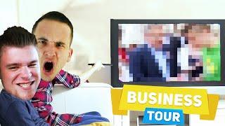 WRZUCAM KOMPROMITUJĄCY MATERIAŁ NAGRANY POZA NAGRANIEM! | Business Tour [#38] (With: EKIPA)