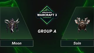 WC3 - Moon vs. Soin - Group A - DH 2020 Regional Championship - Asia